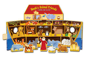 Noah's Animal Friends Playset