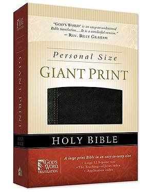 God's Word Personal Size Giant Print Bible