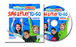Hands On Worship Sing & Play To Go CD (5 Pack) Spring 2015