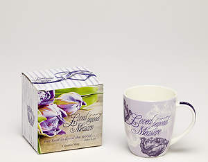Loved Beyond Measure: Bone China Mug