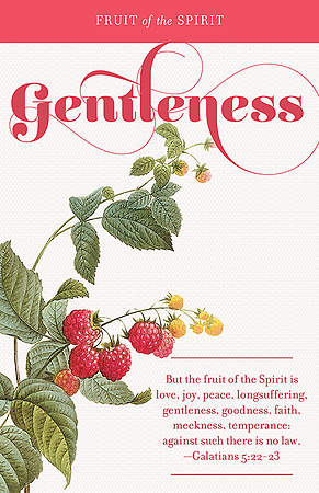 Fruit of the Spirit:  Gentleness Bulletin Pack of 100