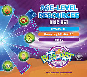 Standard VBS 2015 Blast to the Past Age-Level Resources Disc Set