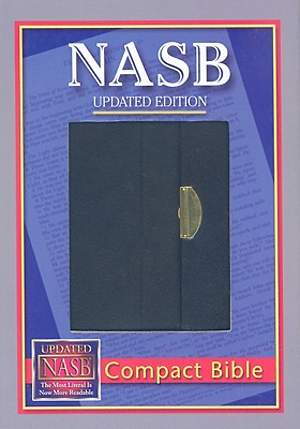 Compact Bible-NASB-Snap Flap