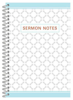 Sermon Notes Journal