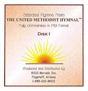 Selected Hymns from The United Methodist Hymnal - Disk 1