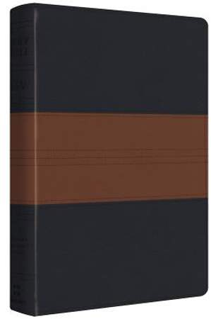 ESV Personal Reference Bible (Trutone, Navy/Chestnut, Trail Design)