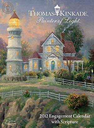 Thomas Kinkade Painter of Light with Scripture