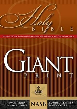Giant Print Handy-Size Bible-NASB