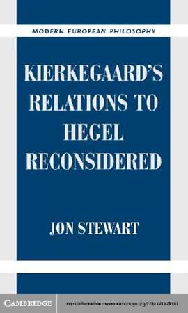 Kierkegaard's Relations to Hegel Reconsidered [Adobe Ebook]
