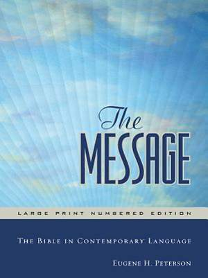 The Message Bible Large Print Hardback Edition