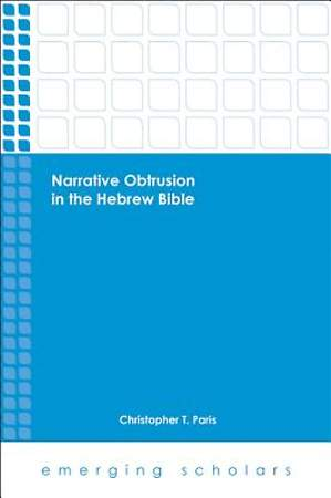 Narrative Obtrusion in the Hebrew Bible [Adobe Ebook]