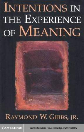 Intentions in the Experience of Meaning [Adobe Ebook]