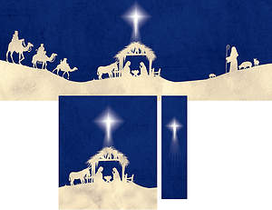 Journey to Bethlehem Advent Parament Set