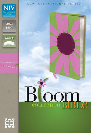 New International Version Thinline Bloom Collection Bible, Compact