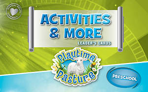 Standard VBS 2015 Blast to the Past Activities & More Leader's Cards - Preschool