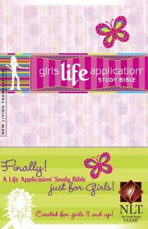 Life Application Bible for Girls-New Living Translation