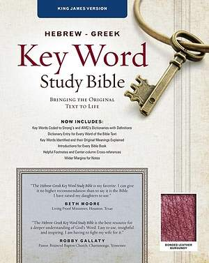 Bible Hebrew Greek Key Word Study KJV
