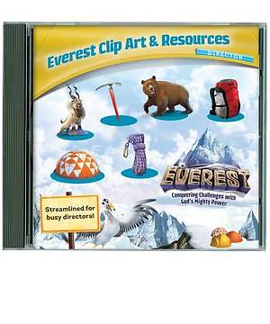 Group Easy VBS 2015 Everest Clip Art & Resources CD