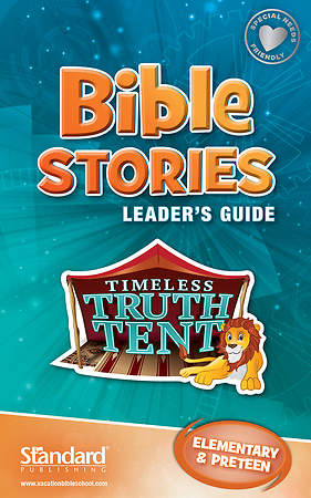 Standard VBS 2015 Blast to the Past Bible Stories Leader's Guide - Elem/PreTeen