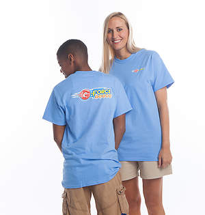 Vacation Bible School (VBS) 2015 G-Force Child T-Shirt Size Small (Size 6-8)