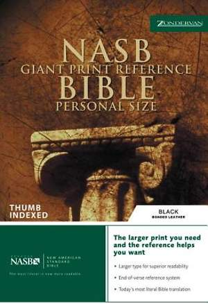 Bible NASB Reference Personal Size Giant Print