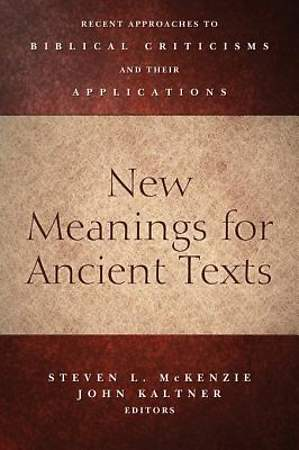 New Meanings for Ancient Texts [ePub Ebook]