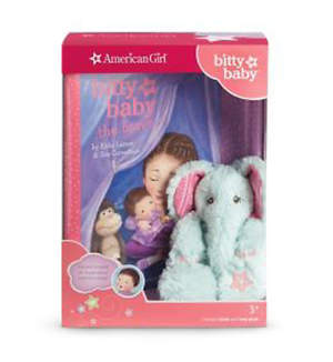Bitty Baby's Mini Elephant & Book [With Bitty Baby the Brave]
