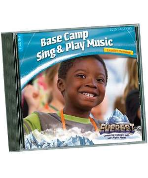 Group Easy VBS 2015 Base Camp Sing & Play Music Leader Version CD Set