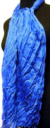 Thai Twisted Scarf - Blue