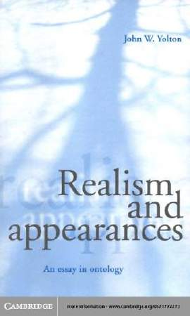 Realism and Appearances [Adobe Ebook]