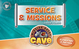 Standard VBS 2015 Blast to the Past Service & Missions Leader's Cards - Elem/PreTeen