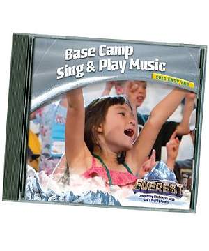 Group Easy VBS 2015 Base Camp Sing & Play Music CD