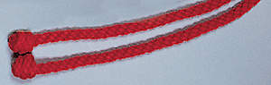 Red Rope Cincture, 4 Yards