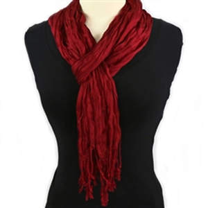 Thai Twisted Scarf - Deep Rust