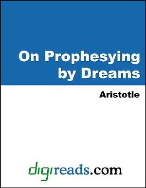 On Prophesying by Dreams [Adobe Ebook]