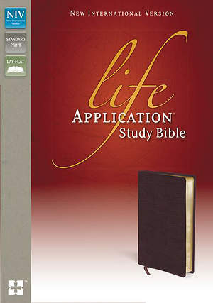New International Version Life Application Study Bible