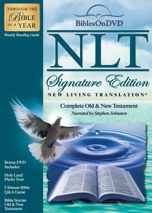 New Living Translation Signature Edition Bible on DVD