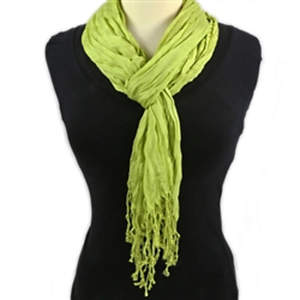 Thai Twisted Scarf - Lime