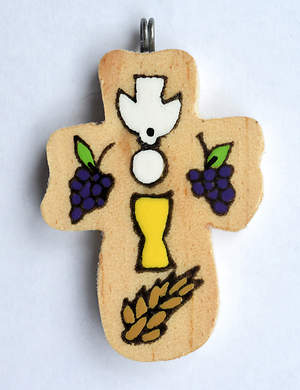 Eucharist Cross Necklace
