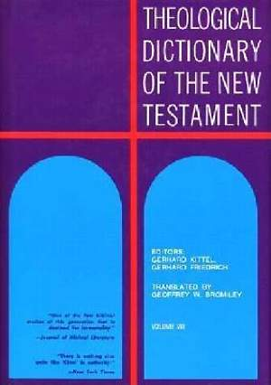 Theological Dictionary of the New Testament #8