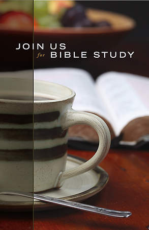 Join Us for Bible Study Postcards (Pack of 25)