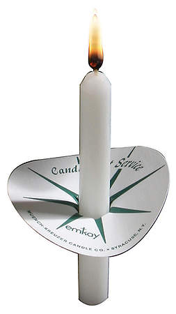 Small Candlelight Service Kit (50 Candles and 50 Drip Protectors)