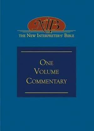 The New Interpreter's® Bible One-Volume Commentary - eBook [ePub]