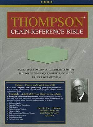 Thompson Chain Reference Bible-NIV-Hand Size