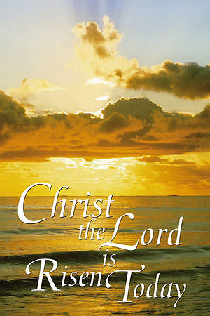 Easter Sunday Christ the Lord Creation Banner 4'X6'