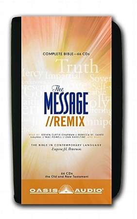 The Message Remix: The Bible in Contemporary Language CD