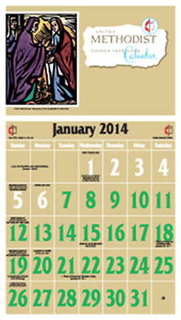 Ashby United Methodist Calendar 2014