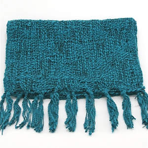 Thai Cozy Scarf - Teal
