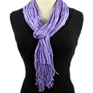 Thai Twisted Scarf - Lavender