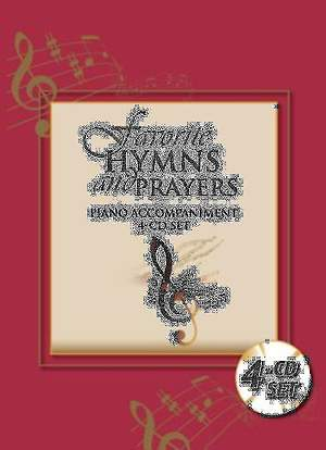 Favorite Hymns and Prayers Piano Accompaniment 4-CD Set